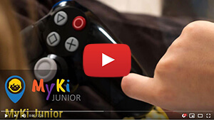Myki Junior használata